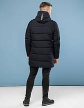 11 Киро Токао | Мужская куртка на зиму 6003 черный, фото 3