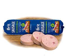 Колбаса Brit Premium Dog Sausage 800грм с курицей и олениной