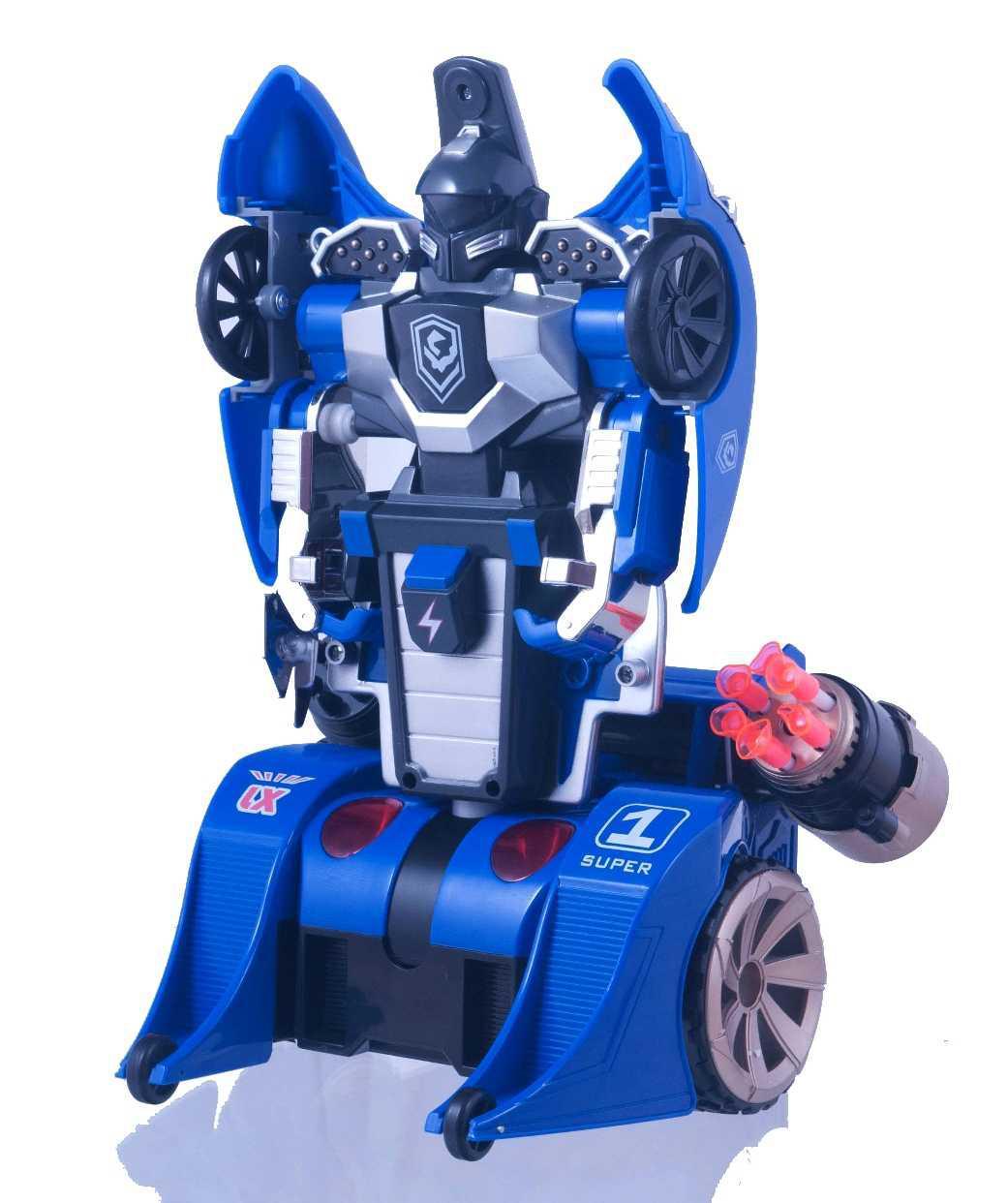 Трансформер на р/у LX9065 Knight (синий)