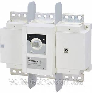 Выключатели нагрузки LBS 1600A 3p (без рукоятки)