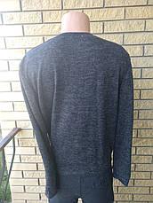 Свитер ангора софт унисекс большие размеры ELEGANZE , фото 3