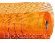Сетка стеклотканевая 1м*50м 5*5мм оранжевая