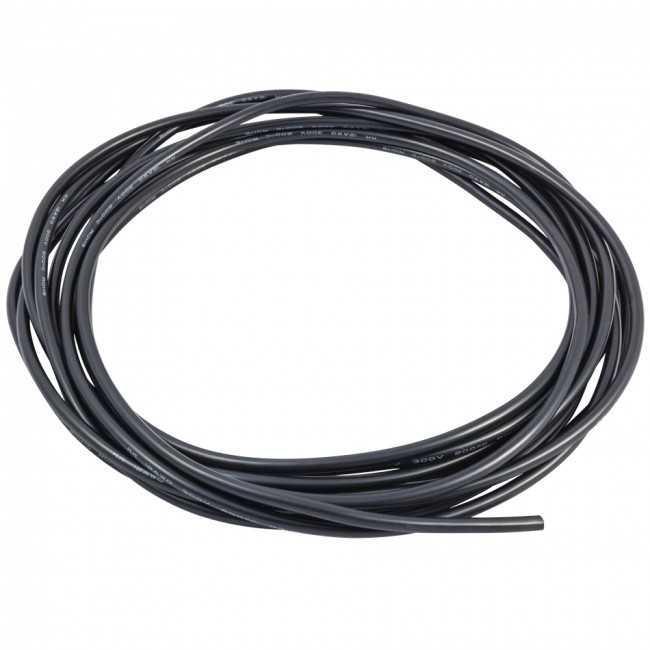 Провод силиконовый DYS 16 AWG (черный), 1 метр