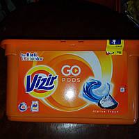 Капсулы для стирки Vizir 3 в 1  41 шт, фото 1