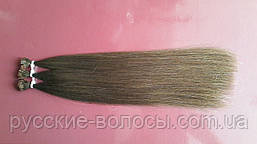 Детские волосы для наращивания на капсулах.