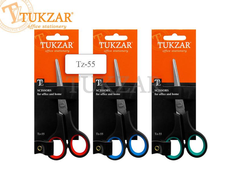 """Ножиці """"Tukzar"""" пластикова ручка 14 см TZ 55"""