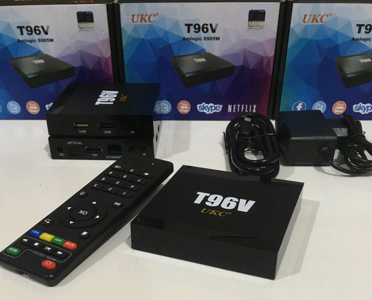 Приставка Android TV Box SMART TV T96V 2gb\16gb S905W+BT
