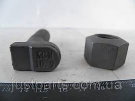Болт колеса МАЗ + гайка (М20, L=60мм) сапожок КСМ 5335-3104008/3101040