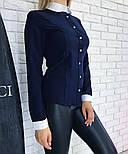 Женская рубашка с воротником (2 цвета), фото 6