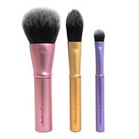 Real Techniques Mini Brush Trio набор из 3 мини кистей для макияжа, фото 1