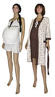 NEW! Комплекты одежды 4 предмета для беременных, кормящих, в роддом со скидкой 20 % - серия GoldArin Venzel Beige ТМ УКРТРИКОТАЖ!