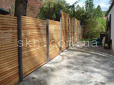 Заборы из дерева сибирской лиственницы, фото 3