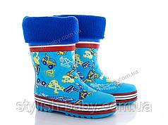 Обувь для непогоды оптом в Одессе. Детские резиновые сапоги бренда BBT для мальчиков (рр. с 24 по 29)