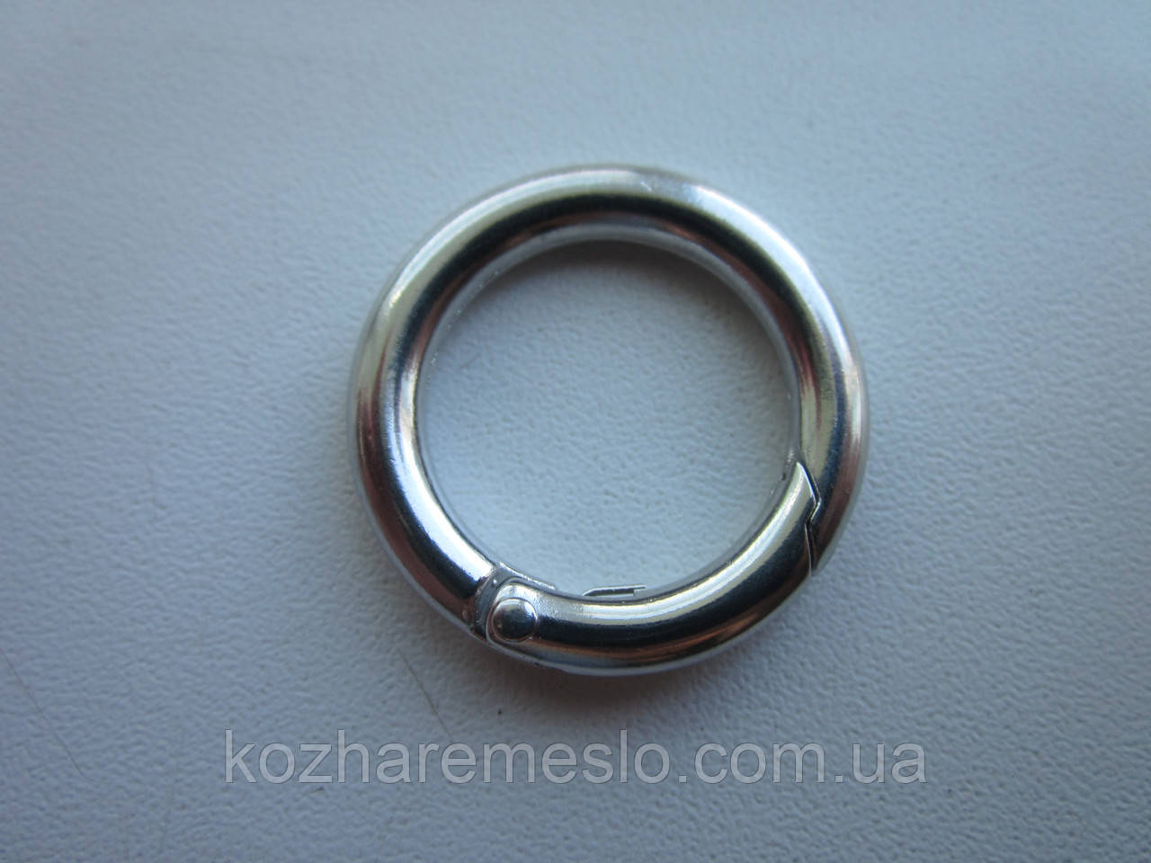 Кольцо - карабин 20 х 4 мм никель