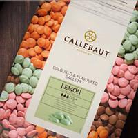 Шоколад зеленый с лимонным вкусом (Barry Callebaut), 100 гр.