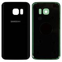 Оригинальная задняя панель корпуса Samsung G930F Galaxy S7 черная