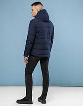 11 Kiro Tokao   Теплая зимняя куртка 6009 темно-синий, фото 3