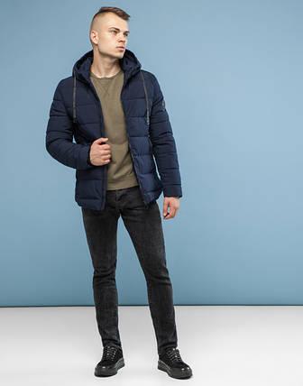 11 Kiro Tokao   Теплая зимняя куртка 6009 темно-синий, фото 2