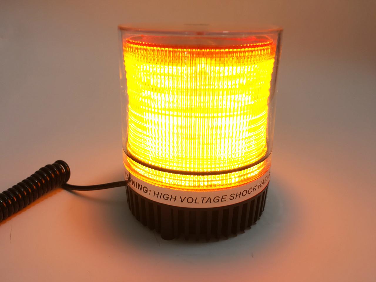 Проблесковый маячок LED 1-18 желтый
