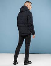 11 Киро Токао | Куртка мужская зимняя 6009 черный, фото 3
