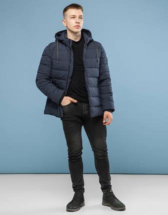 11 Kiro Tokao | Мужская куртка на зиму 6016 серый, фото 2