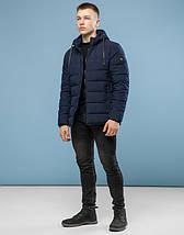11 Kiro Tokao | Зимняя куртка мужская 6016 темно-синий, фото 2