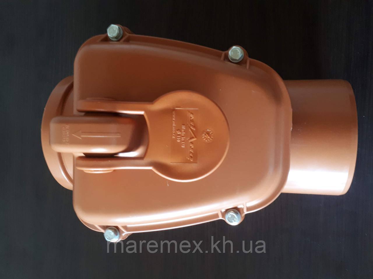 Обратный, запорный клапан для канализации д.110 FVplast (Польша)