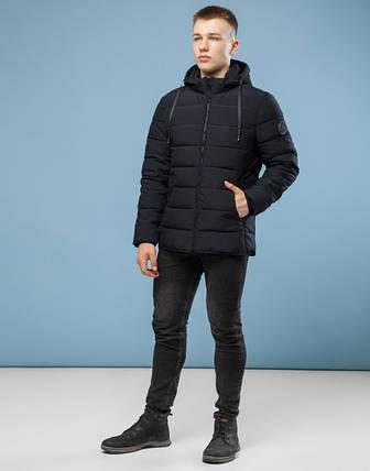 11 Киро Токао | Куртка мужская зимняя 6016 черный, фото 2