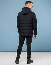 11 Киро Токао | Куртка мужская зимняя 6016 черный, фото 3