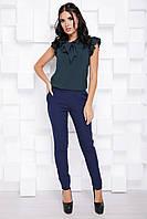Стильные женские брюки на резинке с костюмки спорт 7073, фото 1