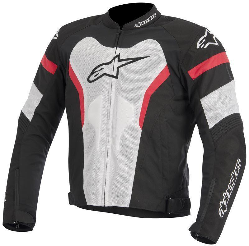 "Куртка Alpinestars T-GP PRO AIR ""XL"" (52р.) black/white/red текстиль"