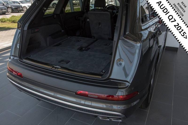 RBP862 Audi Q7 6.2015> rear bumper protector