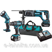 Набор инструментов Makita DLX 3043