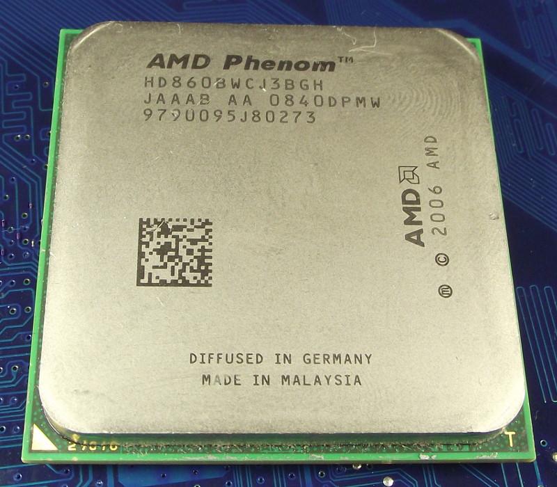 Процессор AMD SAM2, Am2+, PHENOM X3  8600 - 3 ЯДРА  ( 3 по 2.3 Ghz каждое ) SAM2+