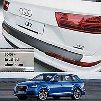 Audi Q7 II 2015> пластиковая накладка заднего бампера