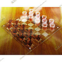Пьяные шашки (шашки рюмки) 35х35см