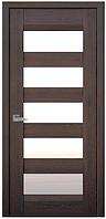 Дверное полотно Бронкс дуб шоколадный СС
