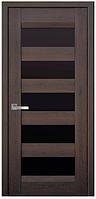 Дверное полотно Бронкс дуб шоколадный ЧС