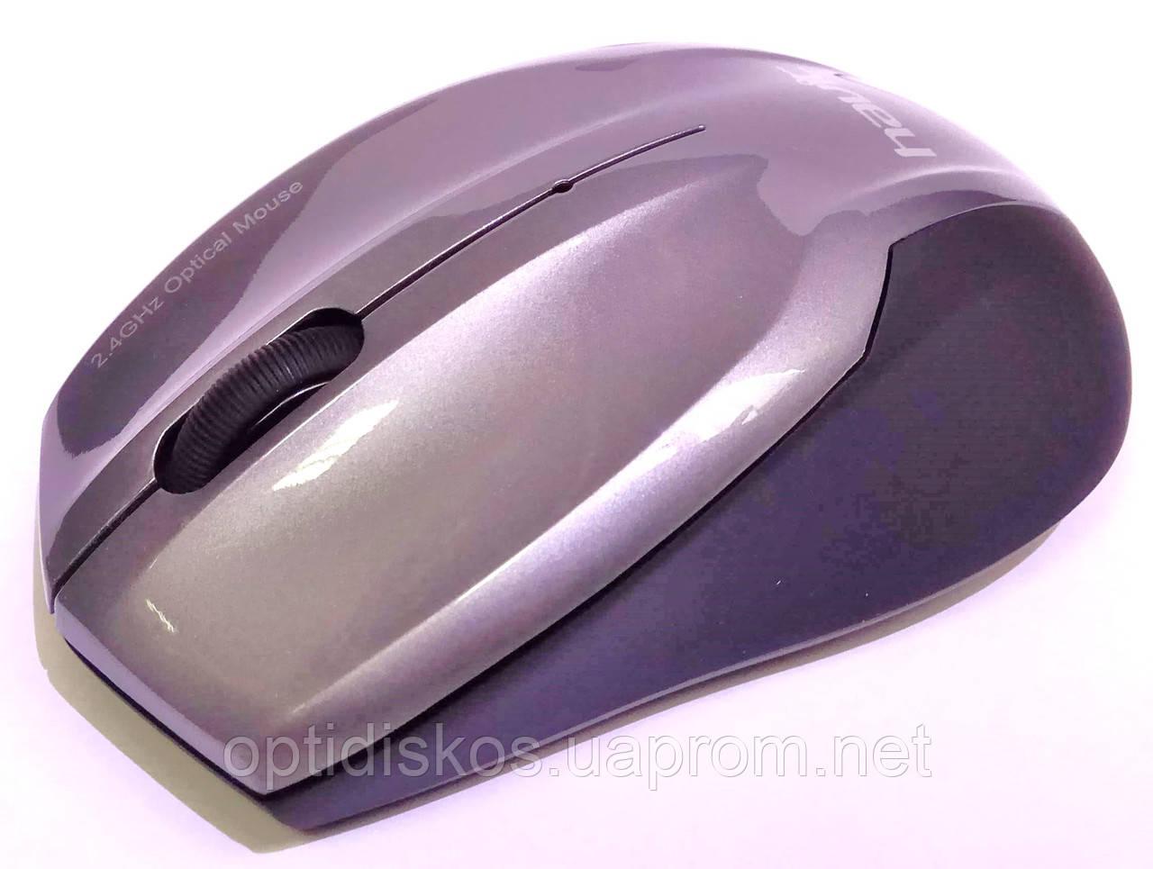 Беспроводная оптическая мышь HAVIT HV-M958GT Wireless USB, серая