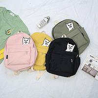 Молодежный рюкзак Кот Fuck стильный, фото 1