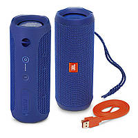 Bluetooth колонка JBL Flip 4 Blue (JBLFLIP4BLUAM) Original, фото 1