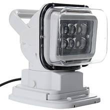 Пошуковий прожектор для човна ксенон 100 вт дистанційне керування light w 518