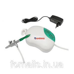Аэрограф ROYALMAX TC-12K (компрессор в комплекте)