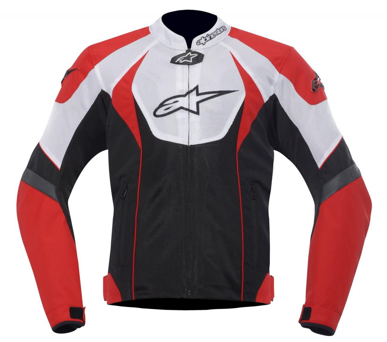 "Куртка Alpinestars T-GP R Air ""XL"" (52р.) black/white/red текстиль"