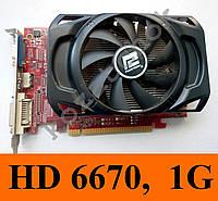 Видеокарты Power Color HD 6670, 1Gb, 128bit, GDDR5  GT 630 640 730 740 HD4770 4830