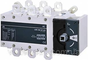 Переключатель нагрузки LBS 250 3P CO (без рукоятки)