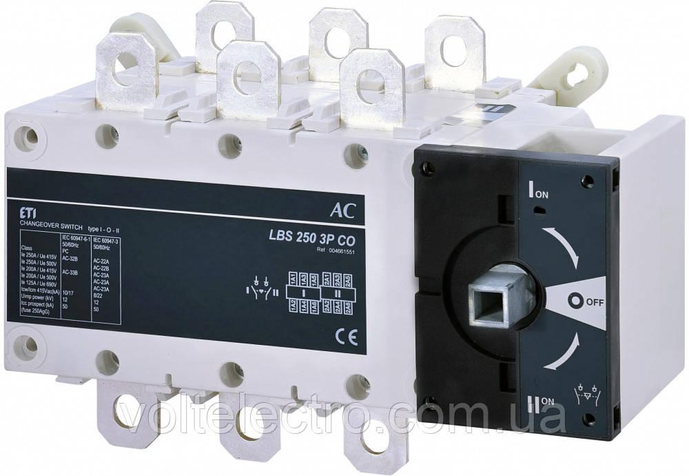 Переключатель нагрузки LBS 400 3P CO (без рукоятки)