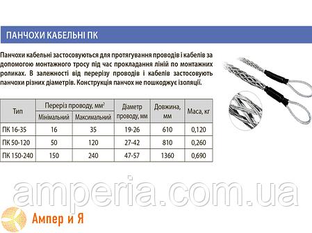 Кабельный чулок ПК 50-120 ЛИЗО , фото 2