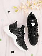Стильные кроссовки женские на шнуровке 25791, фото 1