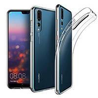 Прозрачный силиконовый чехол Huawei P20 Pro